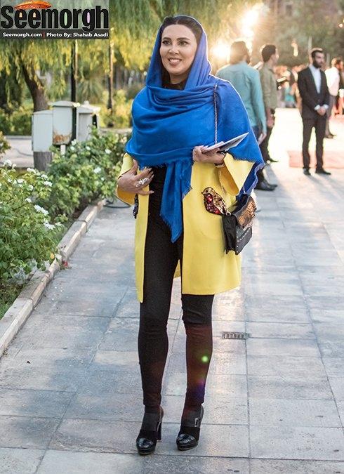 عکس بازیگران زن در جشن حافظ گالری عکس