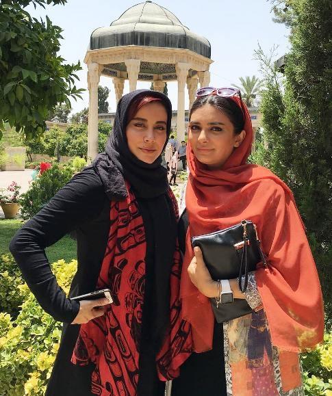 عکس های جدید لیندا کیانی در حافظیه شیراز گالری عکس
