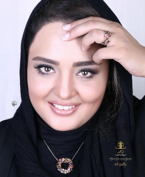 تصاویر جدید نرگس محمدی به عنوان مدل تبلیغاتی گالری عکس